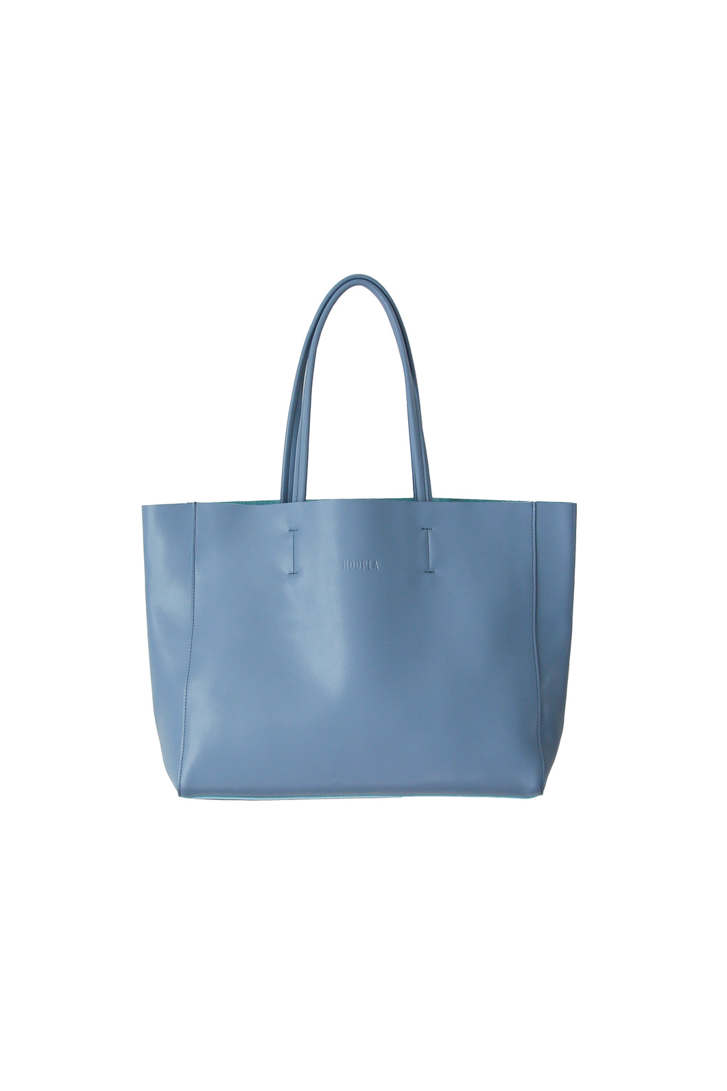Large Blue Grey Landscape Tote