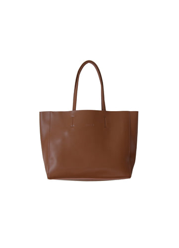 Large Brown Landscape Tote