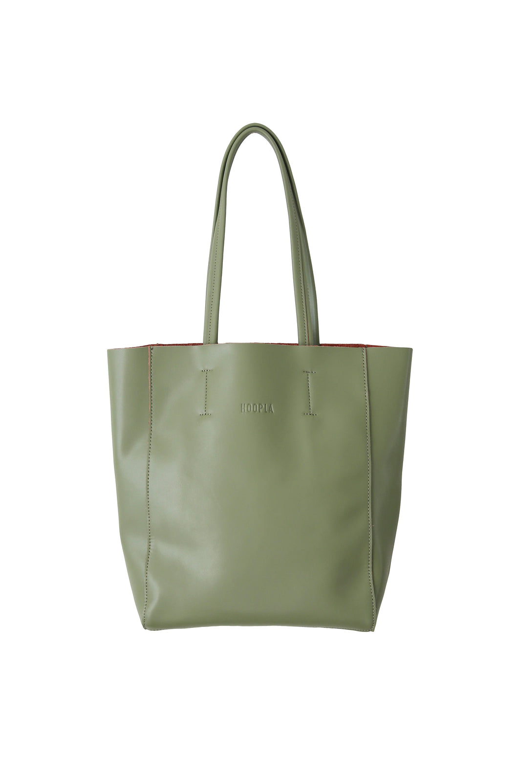 Small Olive Green Portrait Tote