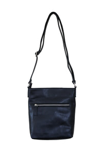 Black Cross Body Slouch
