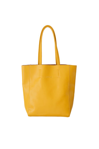 Large Mustard Portrait Tote