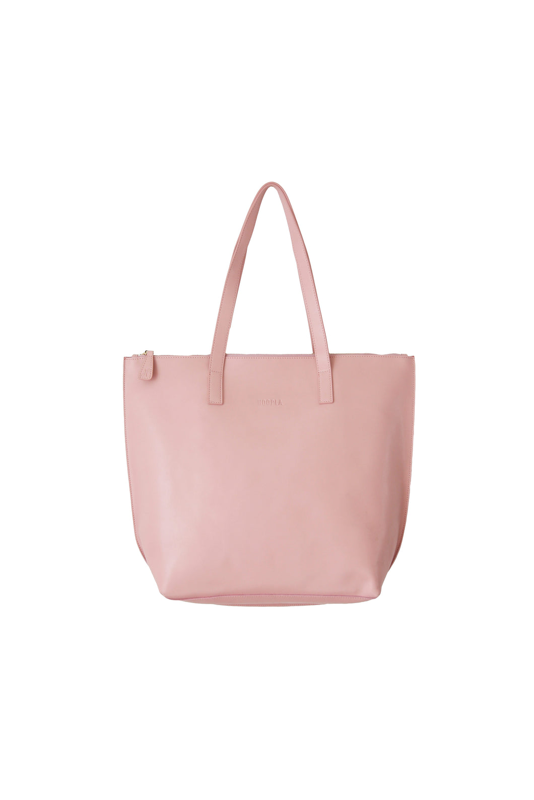 Large Dusty Pink Zip Tote