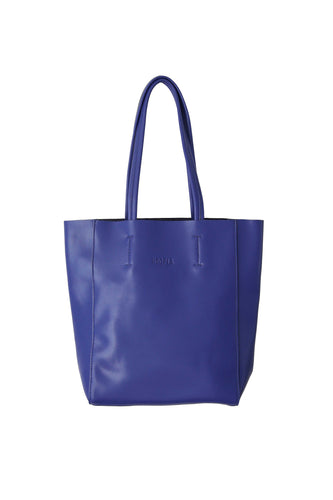 Large Blue Portrait Tote