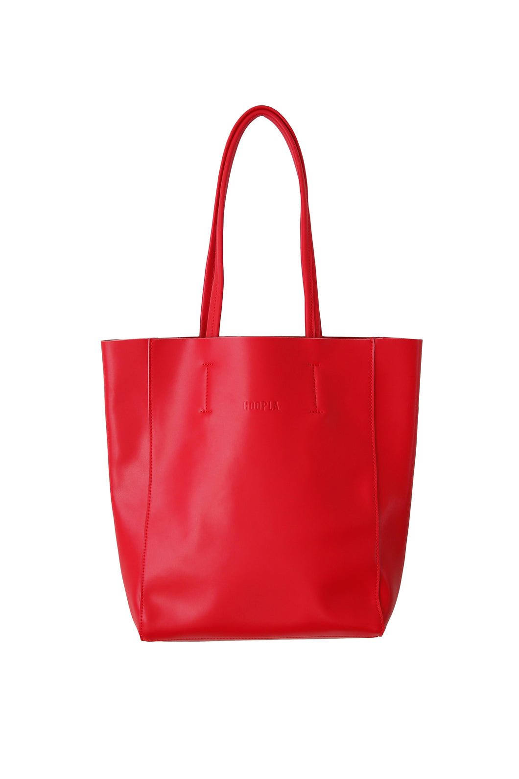 Large Red Portrait Tote