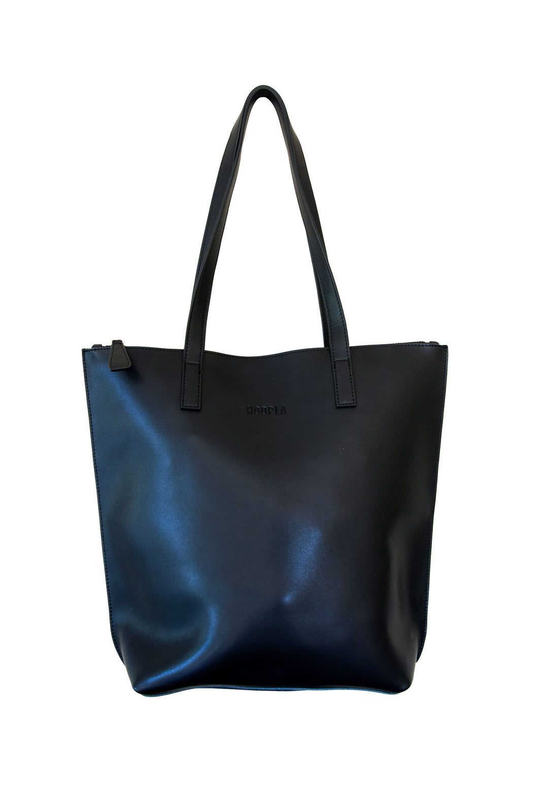 Small Black Zip Tote