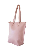 Load image into Gallery viewer, Small Dusty Pink Zip Tote