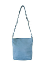 Load image into Gallery viewer, Blue Grey Cross Body Slouch