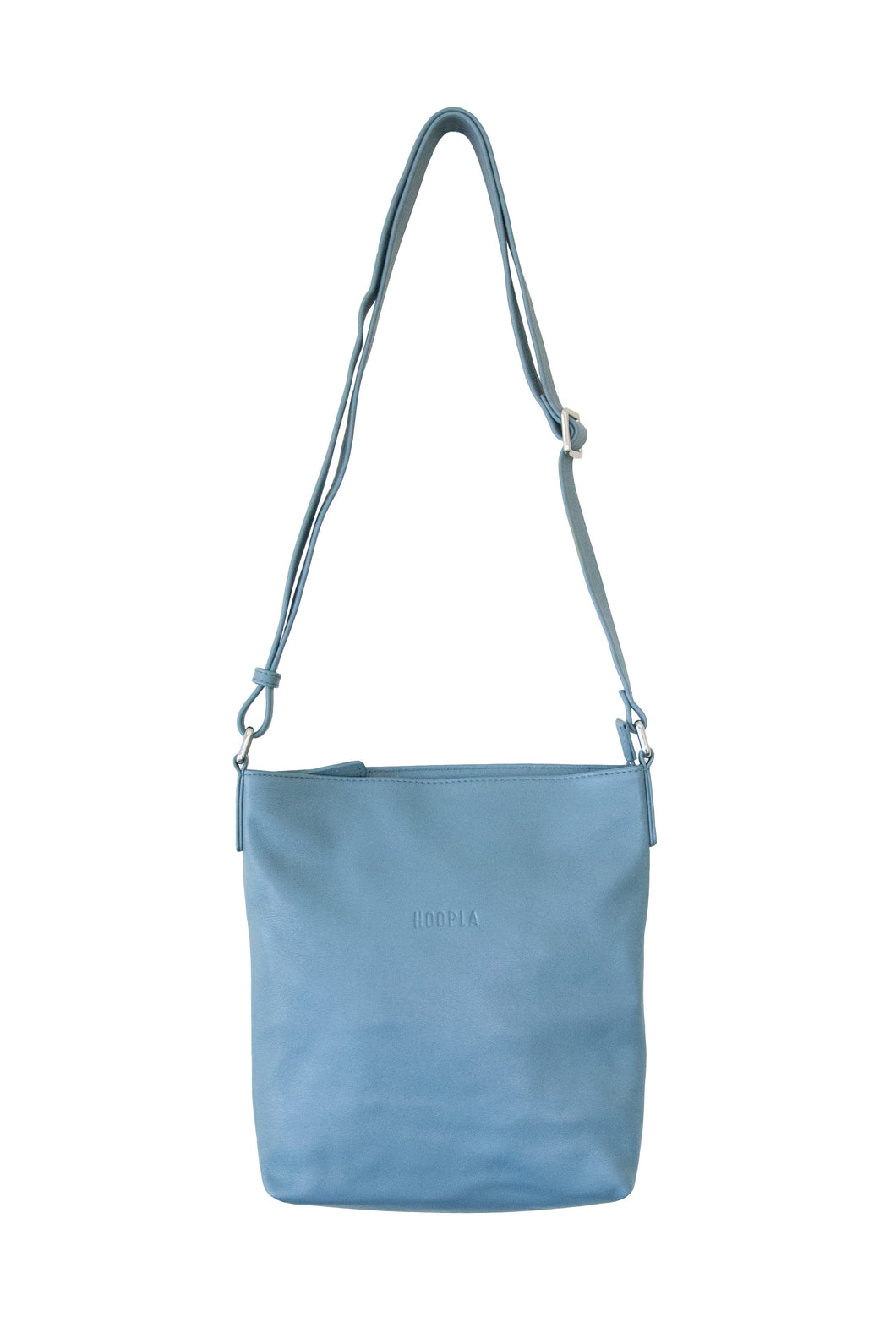 Blue Grey Cross Body Slouch
