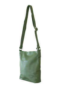 Forest Green Cross Body Slouch