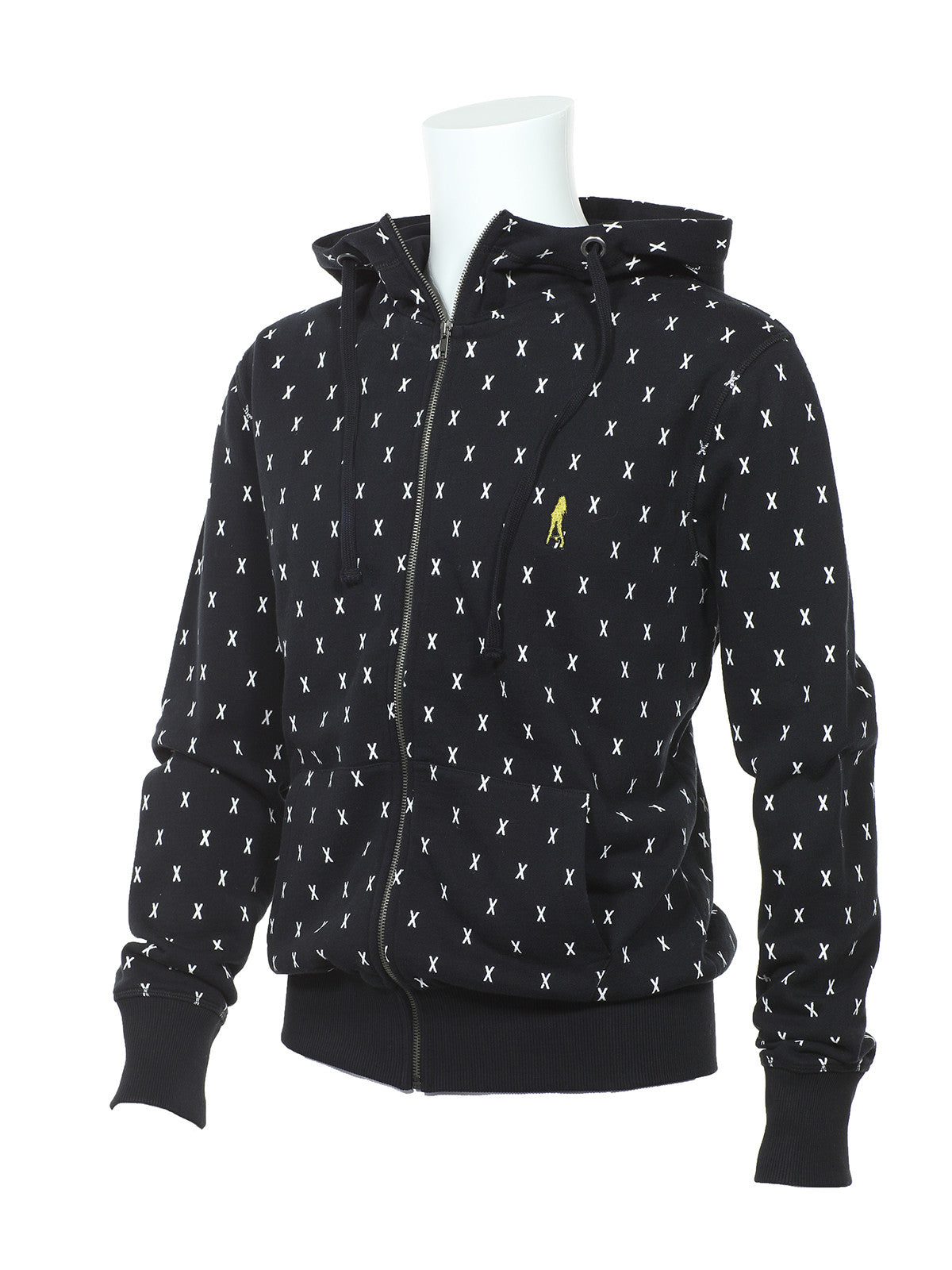 x monogram zip up hoodie plain jane homme. Black Bedroom Furniture Sets. Home Design Ideas