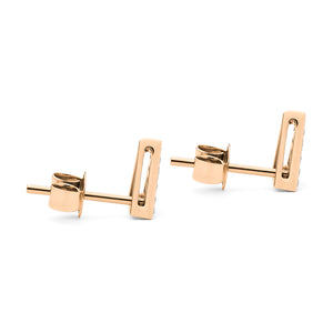 Troika Stud rose gold