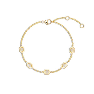 Luz Bracelet (Diamond)