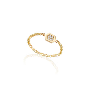 Luz Chain Ring (Diamond)