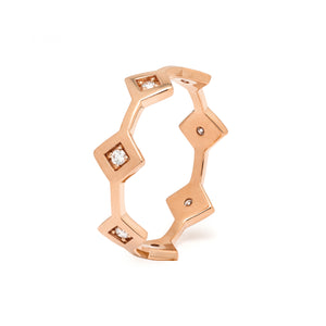 Répertoire Tiara Band Ring rose gold