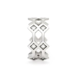Répertoire Crown Ring white gold