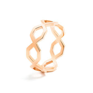 Répertoire Diadem Band Ring rose gold
