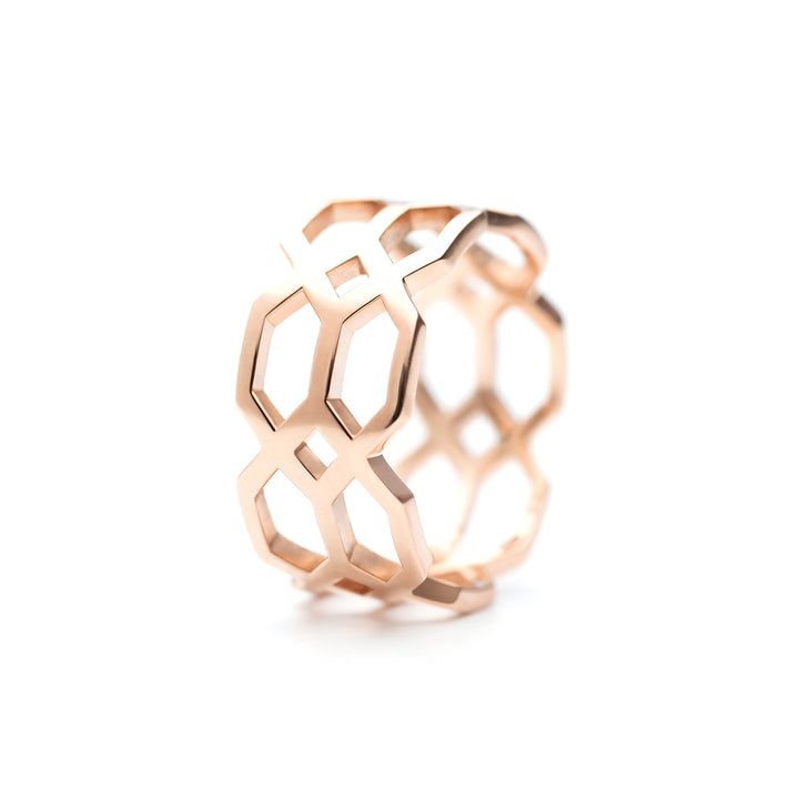 Répertoire Duo Ring rose gold