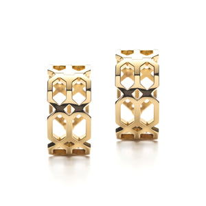 Répertoire Hoop Earrings yellow gold