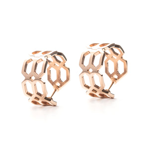 Répertoire Hoop Earrings rose gold