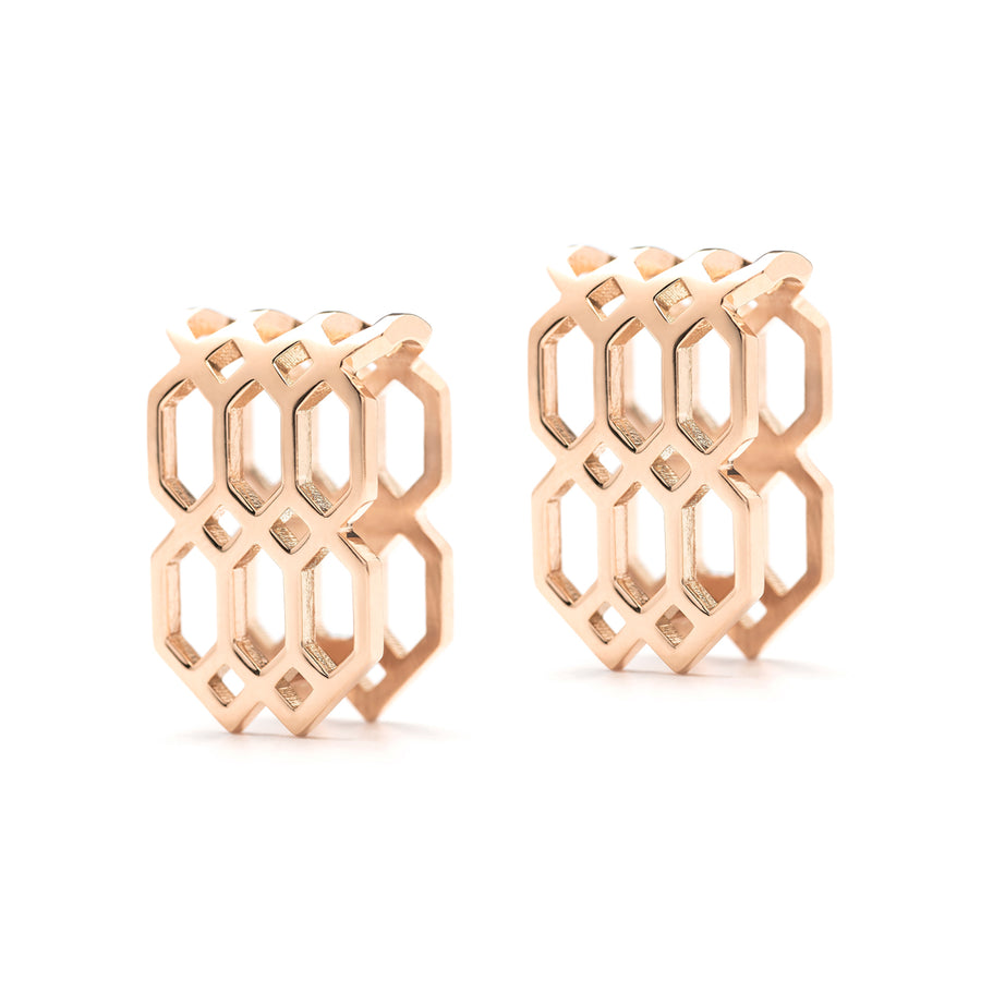 Répertoire U-Hoop Earrings rose gold