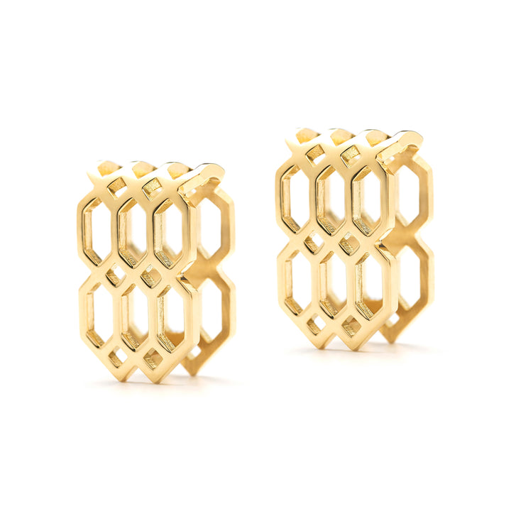 Répertoire U-Hoop Earrings yellow gold