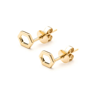 Répertoire Stud Earrings yellow gold