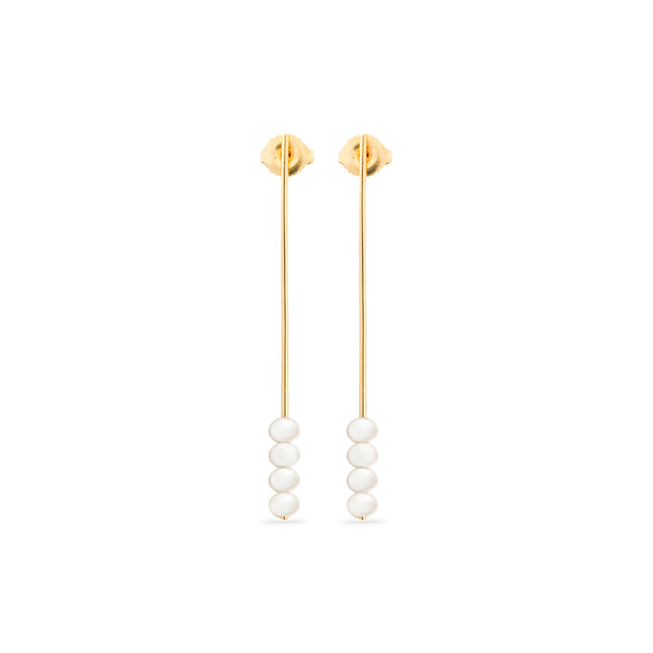 Troika Needle Drop Earrings