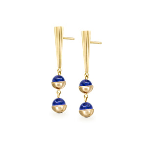 Suad Tramonto Earrings (Lapis)