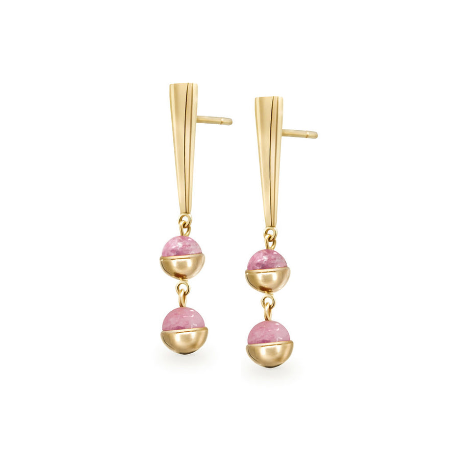 Suad Tramonto Earrings (Tourmaline)