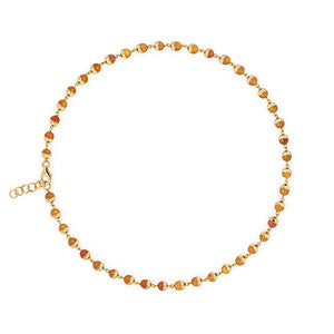 Suad Tramonto Necklace (Carnelian)