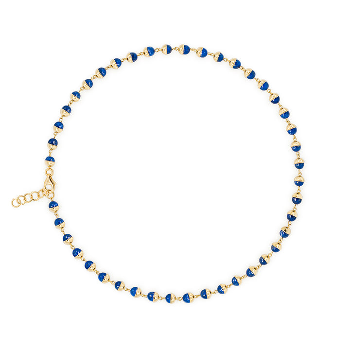 Suad Tramonto Necklace (Lapis)