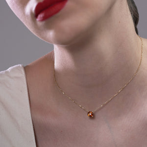 Fortuna Necklace (Garnet)