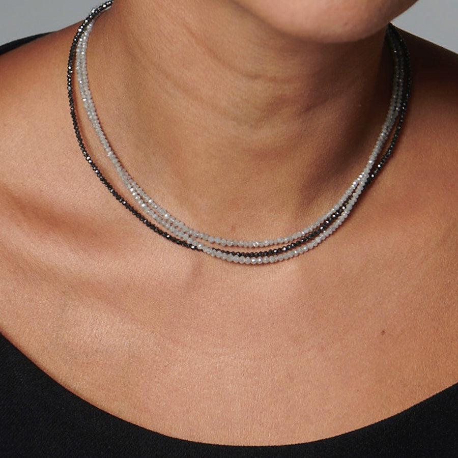 Eternity Choker (Black Diamonds)