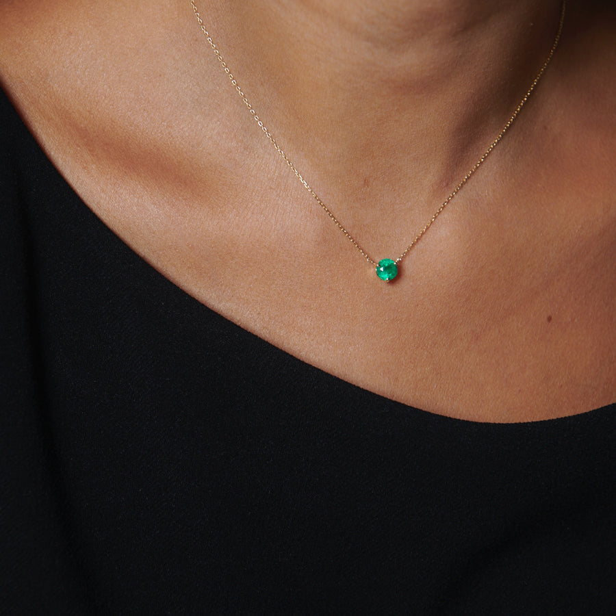 Fortuna Necklace (Emerald)