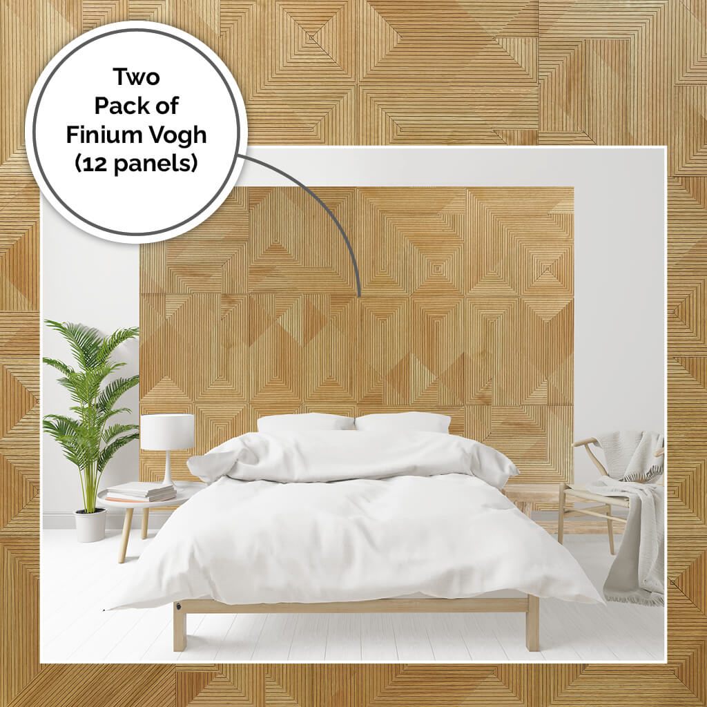 Extra large oversized bed headboard DIY project using wooden panels