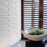 Eco 3D wall panel Jayden used next to a window. 3D panels work well with light creating shadows.
