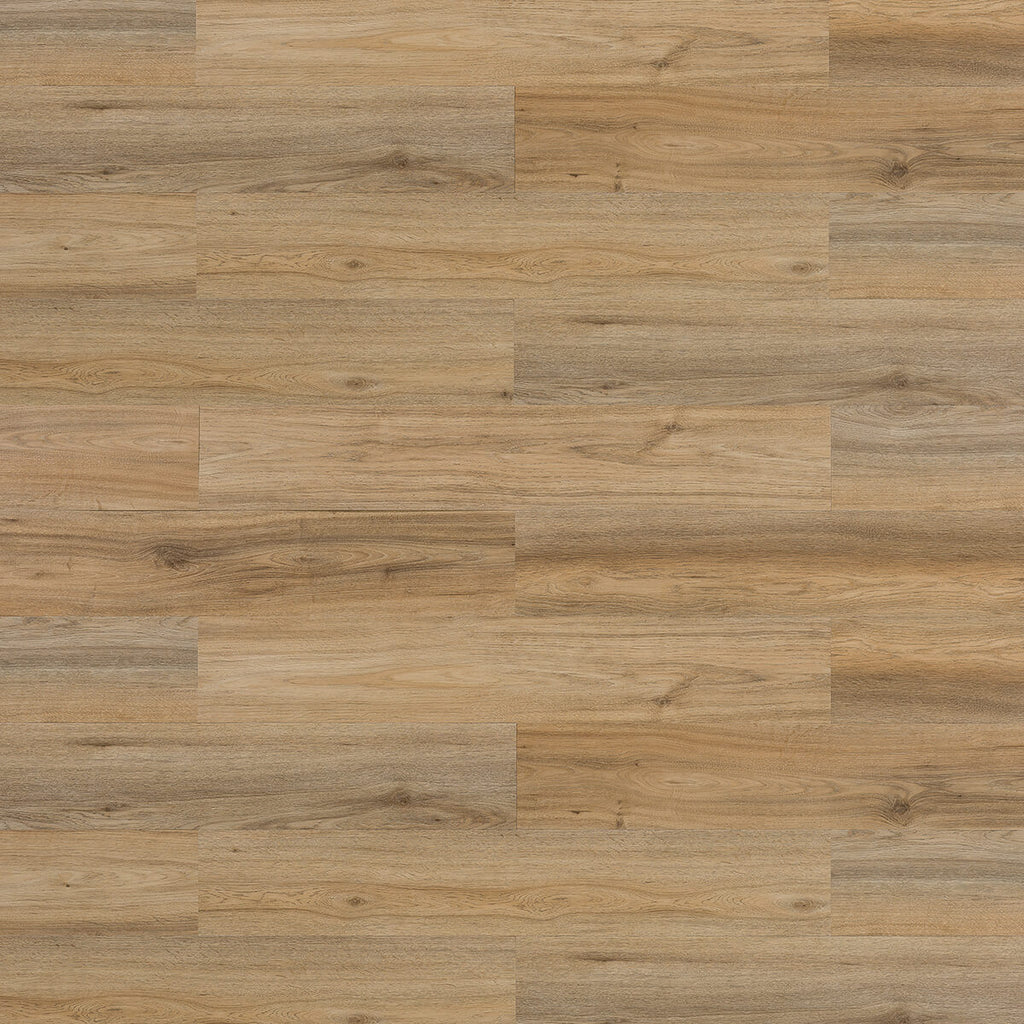 Vinyl Wood Effect Wall Panels - Oak Latte Brown 1sqm