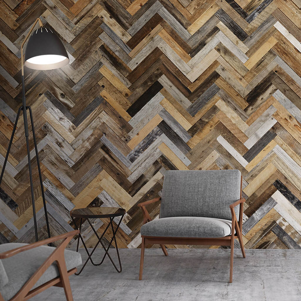 Finium Wall Panel Package - Premium Herringbone Noble Brace