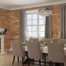 Load image into Gallery viewer, Timber wall panelling in a dining room