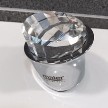Load image into Gallery viewer, A Maier tap head featuring a Swarovski diamond