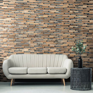 Natural Vintage Timber Wall Panels - Expo 1sqm Box
