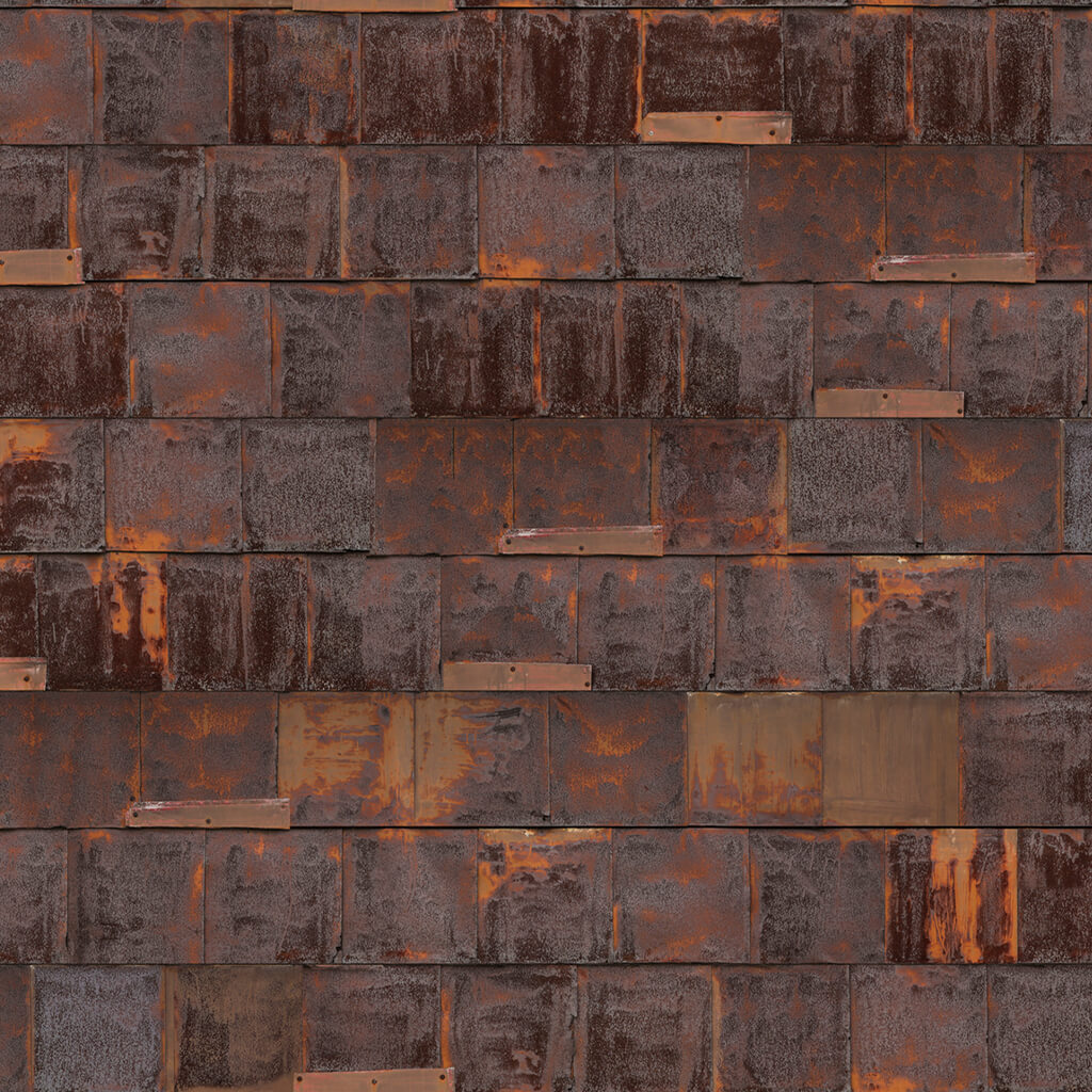 NLXL Wallpaper - Rusted Metal - 4.87m²