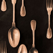 Load image into Gallery viewer, Mind The Gap Wallpaper - Cutlery - 3 Rolls