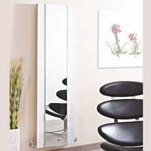 Load image into Gallery viewer, Designer White Aluminium Mirror Radiator