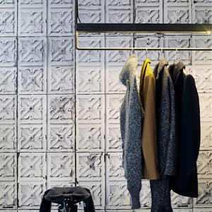 NLXL Wallpaper - Brooklyn Tins- 4.87m²