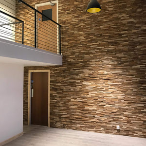 Teak Wall Panels - Premium Swarn Package