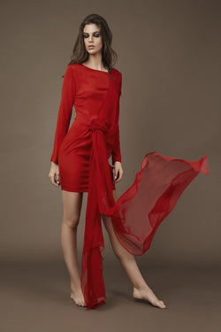 Silk Dress - H. Fashion Design