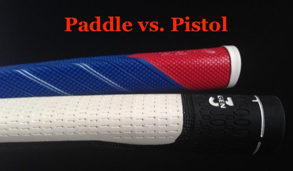 Mystery Solved Paddle Vs Pistol Putter Grips Grips4less