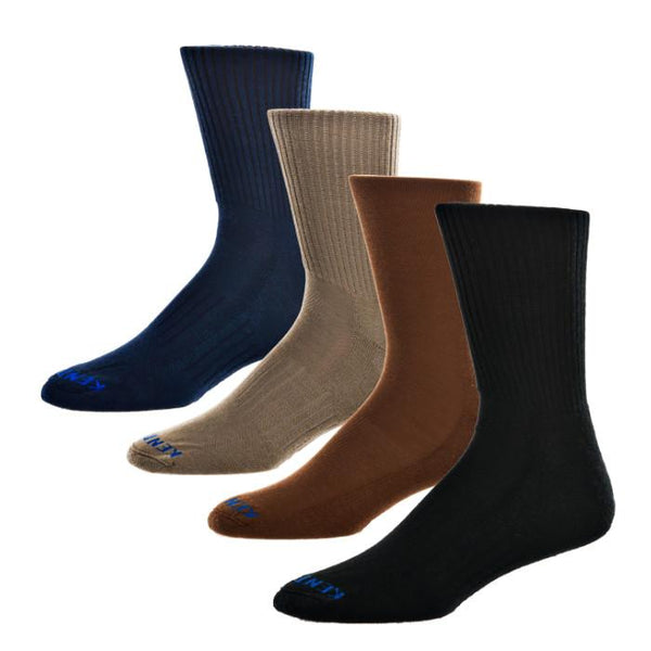 KentWool 19th Hole Collection Classic Solid Golf Sock (Dress Sock)