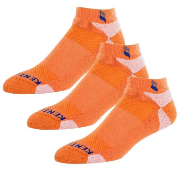 Bundle Set KentWool Men's Tour Profile Golf Socks (Orange/3-pack)